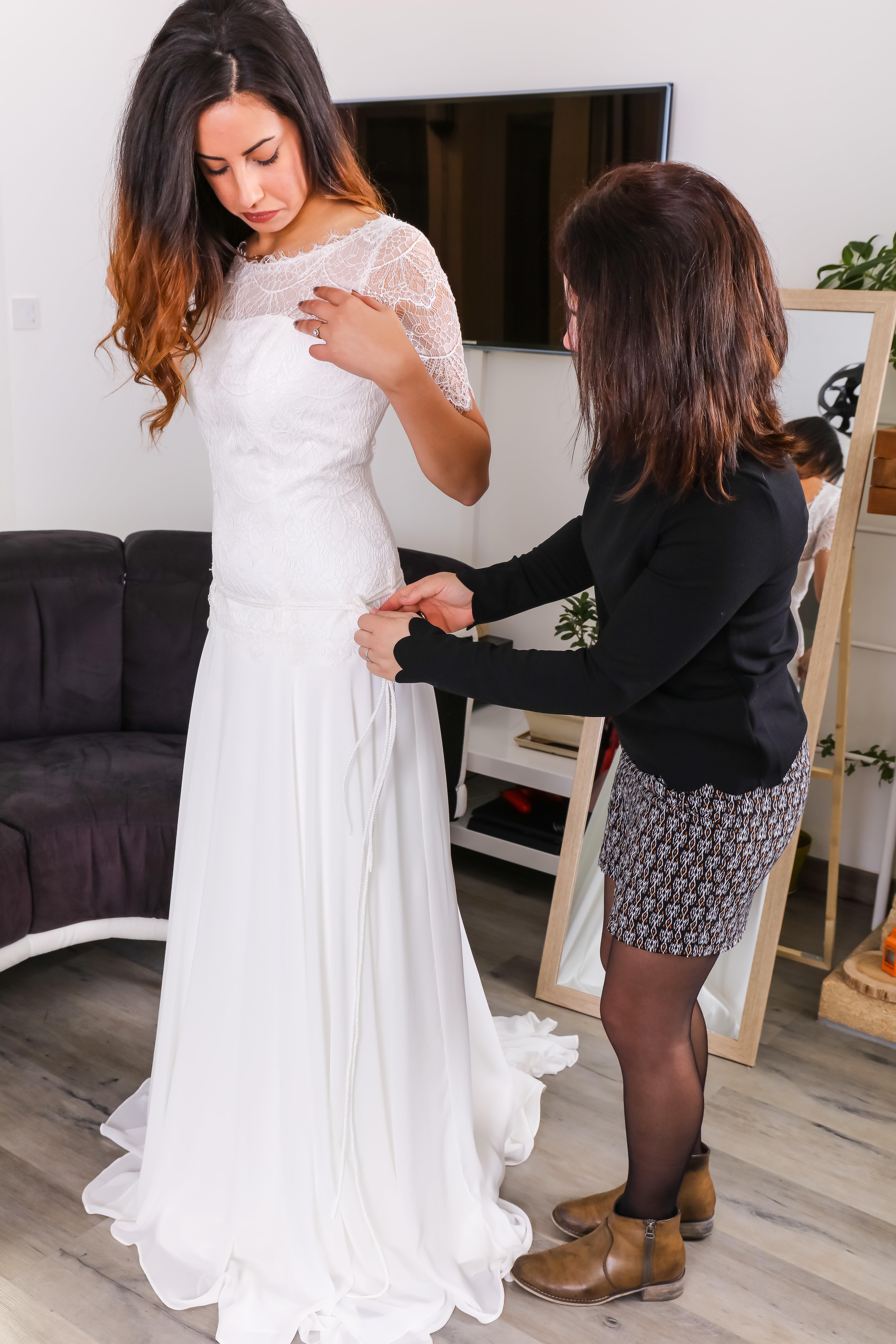 Robe de mariée Eséam Lybie