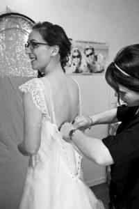 Robe de mariée - essayage Alexandra