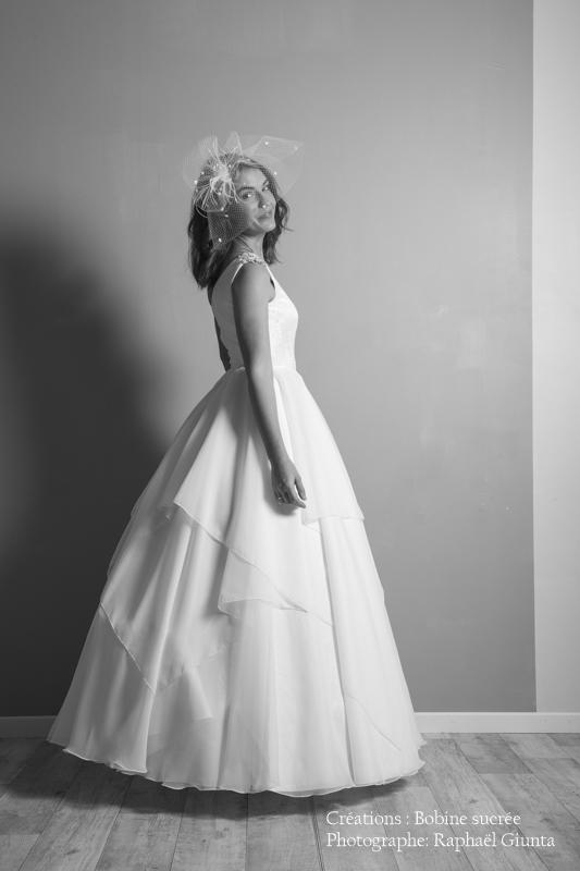 Robe de mariée à domicile - ANGELINE - Robe princesse - Cholet