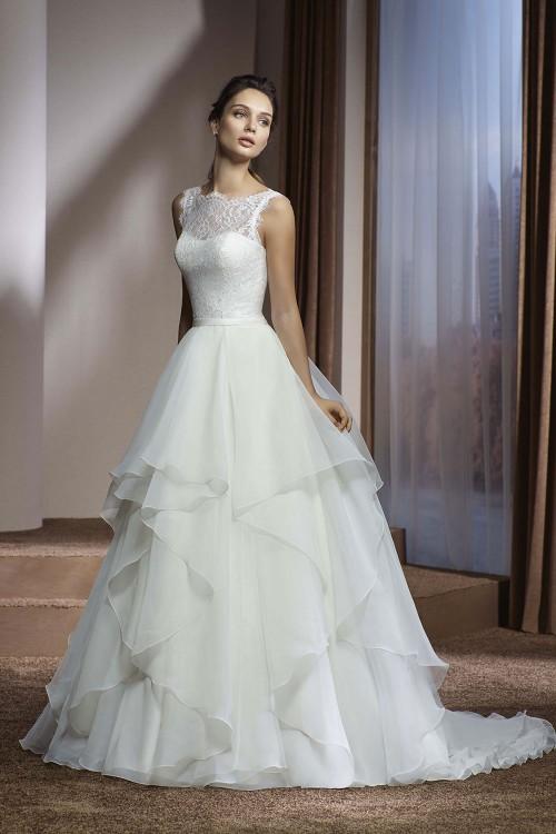Robe de mariée à domicile - Divina Sposa - Robe princesse mousseline