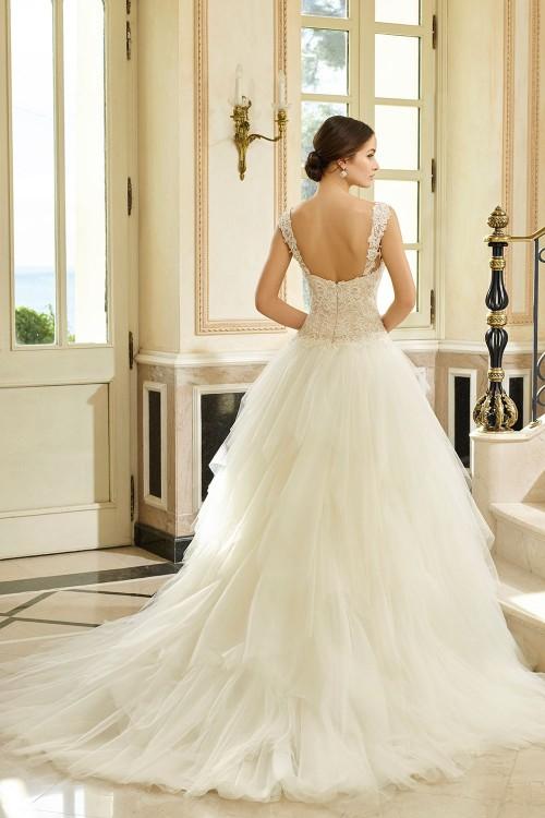 Robe de mariée à domicile - Miss Kelly - Robe princesse Tulle
