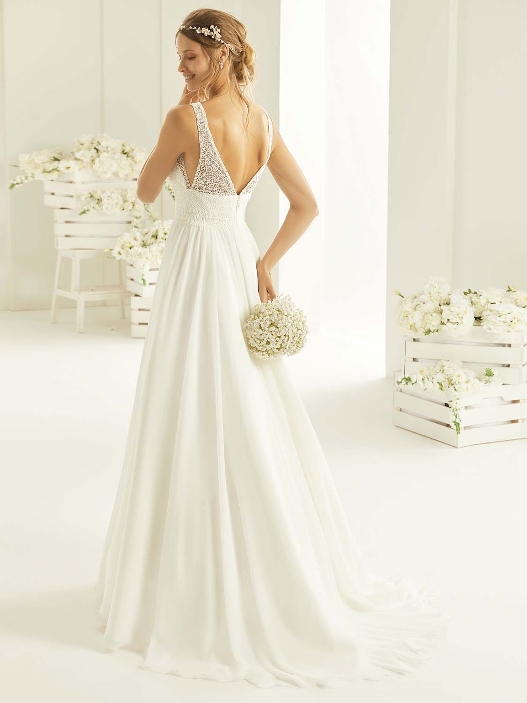 Robe de mariée Rebeca Bianco Evento - Robe de mariée bohème- Cholet - Boutique de mariage 49. robe de mariée pas cher, Créatrice 49