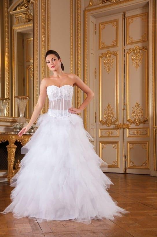 Robe de mariée à domicile - Nana couture NC 2277 - robe Princesse - Cholet - boutique mariage - Créatrice