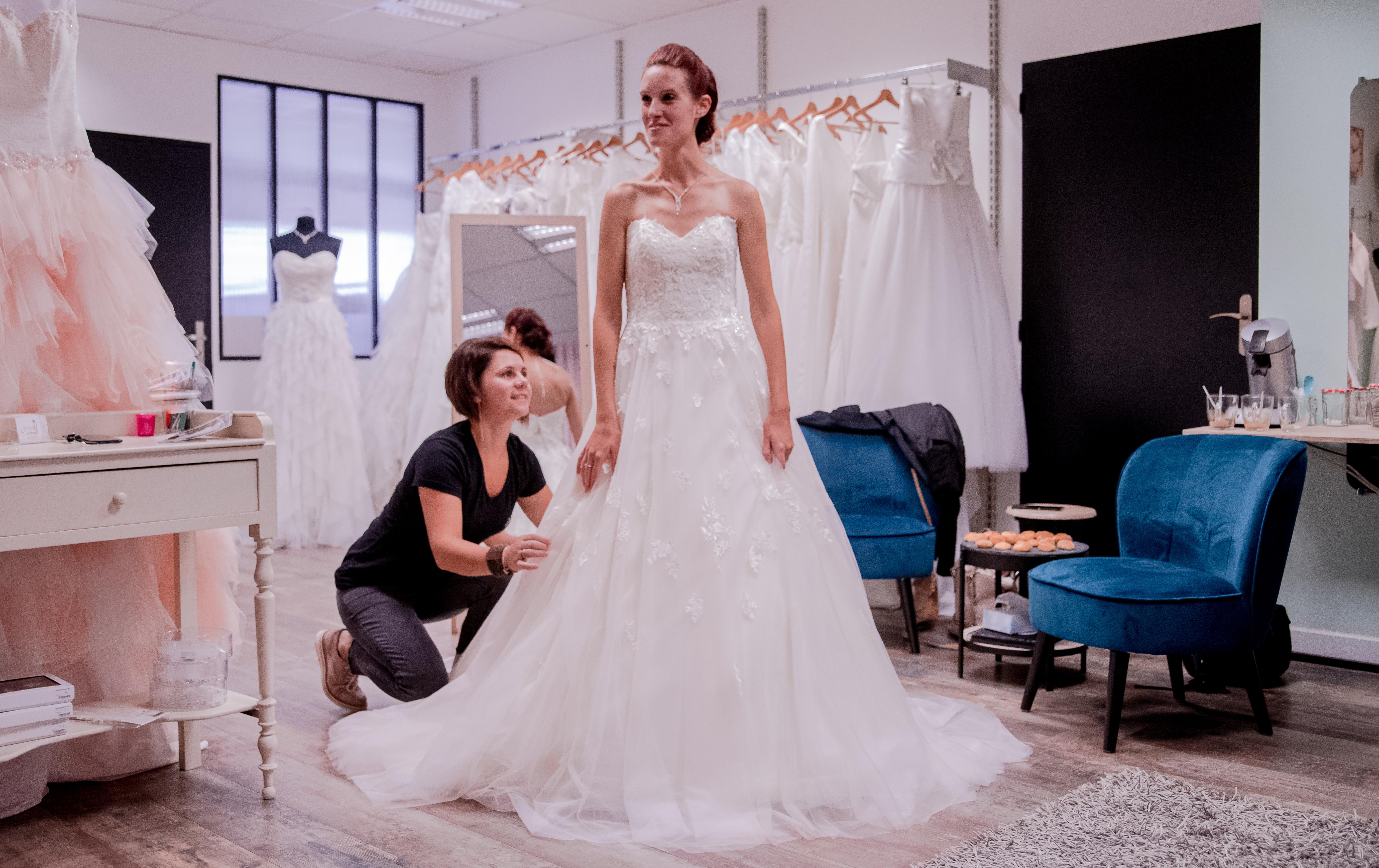 Robe de mariée Eséam - Boutique Mariage Eséam La Tessoualle - Cholet